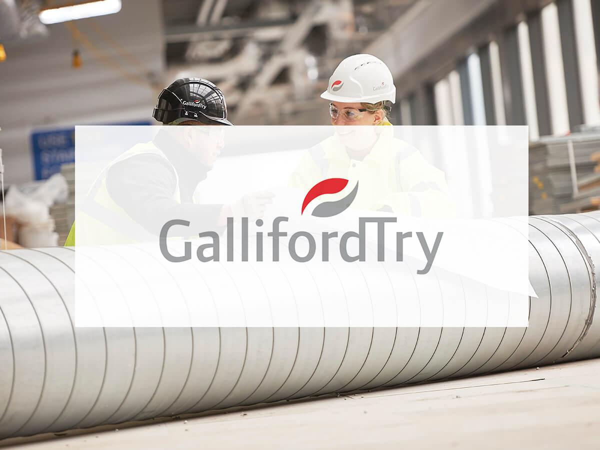 Galliford Try logo on image
