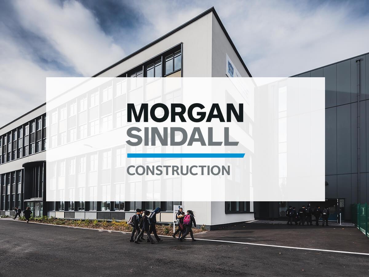 Morgan sindall logo on image of building