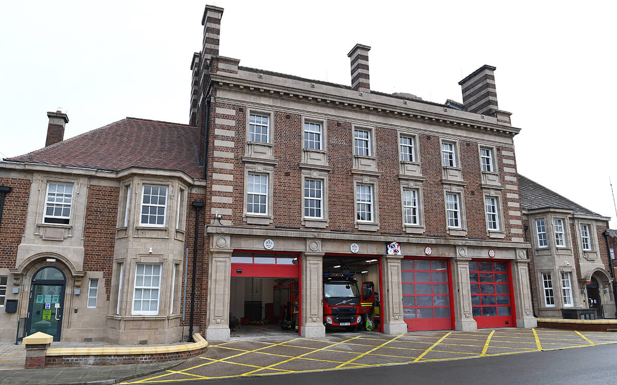 Aston Fire Station by Interclass