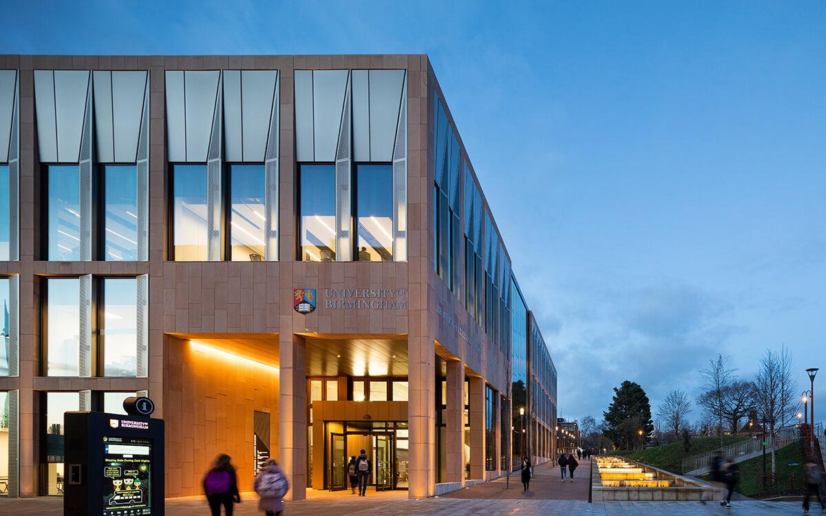 University of Birmingham building